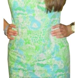 Lilly Pulitzer Hidden Zoo dress sz 00